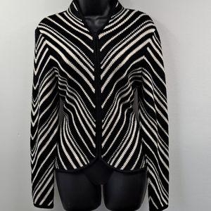 Gently Worn! Talbots Zip Sweater S